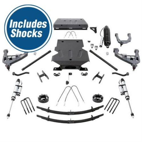 2010 Toyota Tundra Pro Comp 4 Inch Pro Runner Long Travel Lift Kit with Shocks