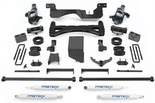 Chevy 2500 or 3500 6 Inch Performance Lift Kit w/Performance Shocks FABK1014
