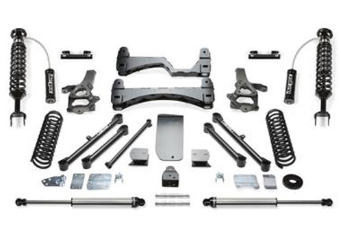 DODGE 1500 2014 FabTech 6 Inch Performance Lift Kit wDirt Logic SS 2.5 Coilovers