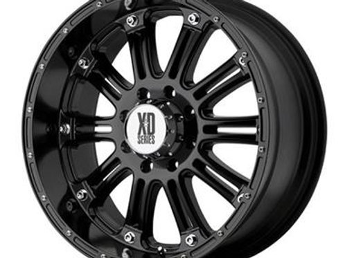 XD795 Hoss, 22x9.5 with 8 on 6.5 Bolt Pattern - Black