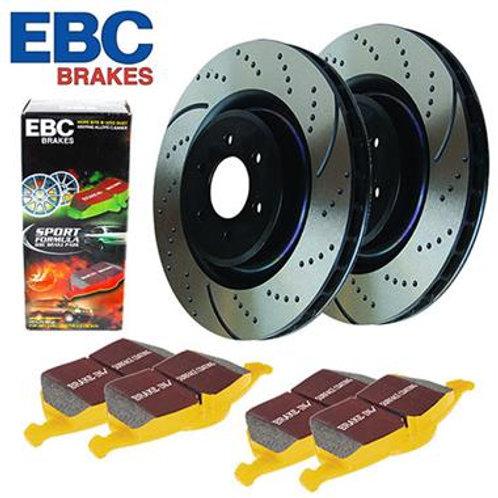 EBC Front Stage 5 Superstreet Brake Kit
