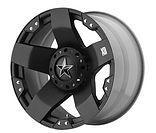 WHEEL ROCKSTAR, 17x8 with 6 on 135 and 6