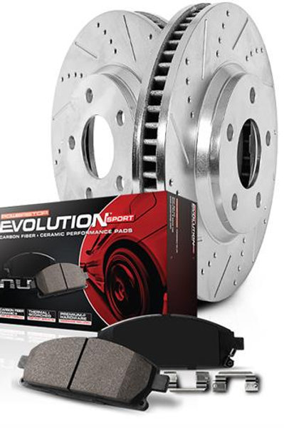 PowerStop 1-Click Drilled And Slotted Brake Kit