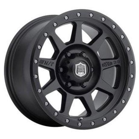 Deegan 38 Pro 4 Black, 17x9 - Matte Black (8179412)