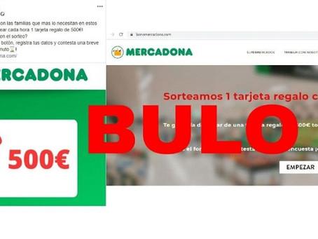 El bulo del cupón de 500 euros de Mercadona por el Coronavirus