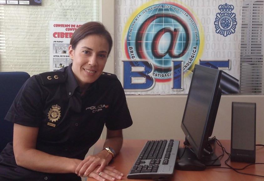 Silvia Barreda, Inspectora de la Policía Nacional
