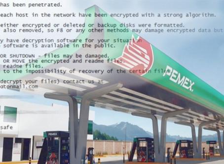 Ryuk ataca de nuevo y amenaza la actividad de la mayor petrolera de México
