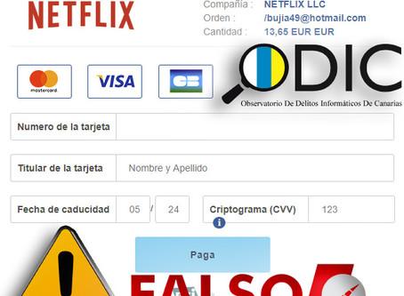 Los usuarios de Netflix son víctimas de ciberestafa