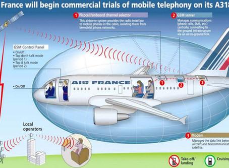 Los móviles, las interferencias y los aviones