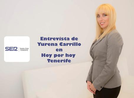 Entrevista de Yurena Carrillo, presidenta del ODICanarias, en Radio Club Tenerife