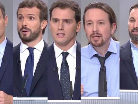Las afirmaciones falsas de los candidatos durante el debate electoral