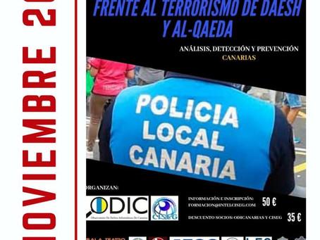 CURSO: La Policía Local frente al terrorismo del Daesh y Al-Qaeda