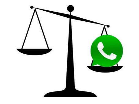 Cuidado, todo lo que digas por WhatsApp podrá ser utilizado en tu contra ante un juez