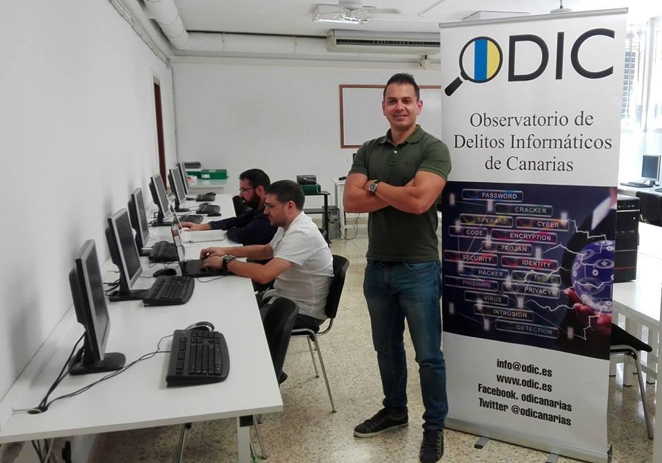 Secretario General del ODICanarias, Sergio Díaz