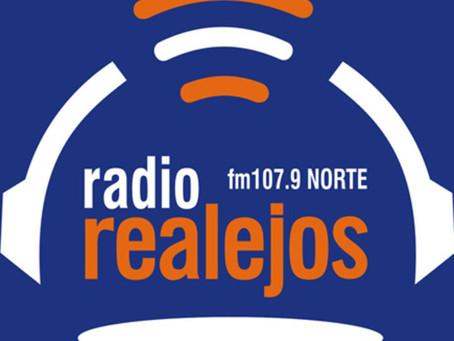 Entrevista de Yurena Carrillo y Sergio Díaz en Radio Realejos