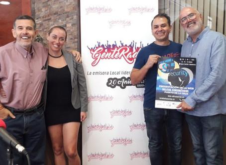 Presentación de la Web del Observatorio de Delitos Informáticos de Canarias en Gente Radio