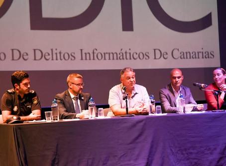 Jornada de presentación de la web del Observatorio de Delitos Informáticos de Canarias - ODIC