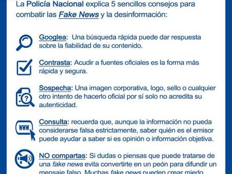 """Aquí tienes la guía Policía Nacional para luchar contra las #FakeNews"""""""