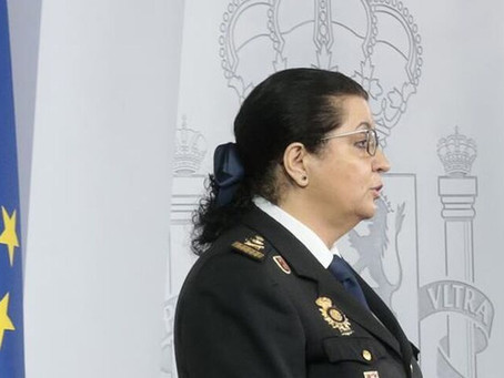Pilar Allué, la 'súper policía' nacional que ahora da la cara en la lucha contra el coronavirus