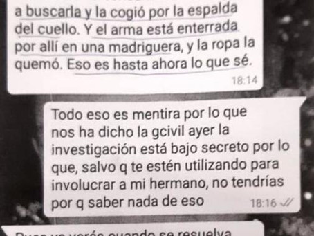 Un Whatsapp revela el móvil del crimen de Meco: Miriam pilló a su asesino en una infidelidad