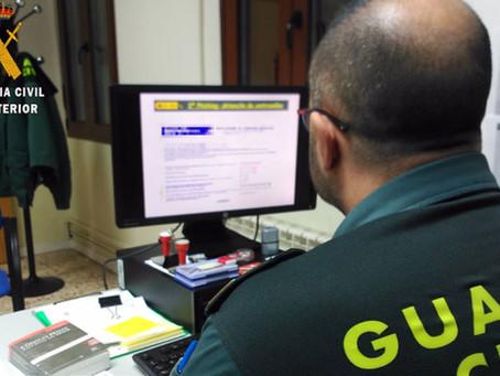 Roban casi 3.000 euros a un vecino de Dueñas en una estafa por internet