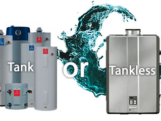 Traditional Tank Water Heaters Vs. Tankless Water Heaters
