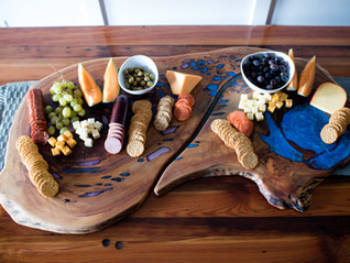 Charcuterie Boards and Serving Trays