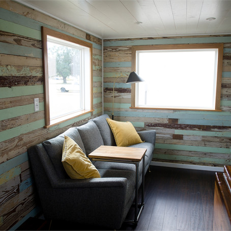 Louisiana Tiny Home Build:  Video Tour {Houma Tiny Home}