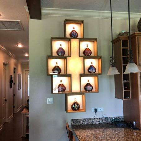 Custom Cognac Display