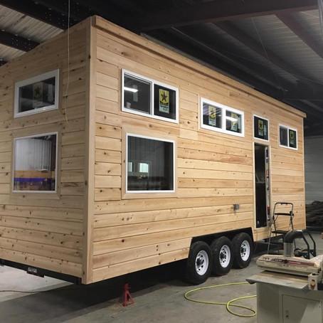 Louisiana Tiny Home Build – Exterior Progress