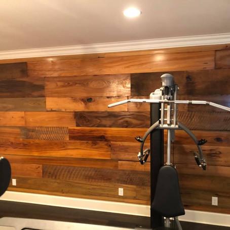 Sinker Cypress Accent Walls