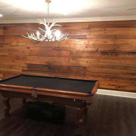 Custom Cypress Accent Wall