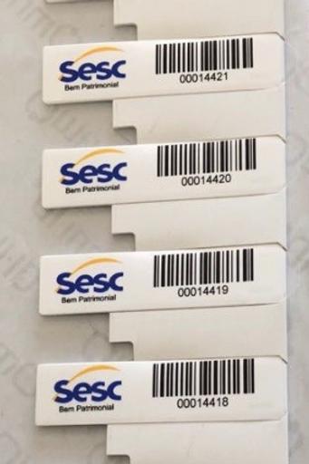 Tag para metal 50x13 - IQ350