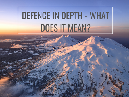 Defence in depth - What does it mean?