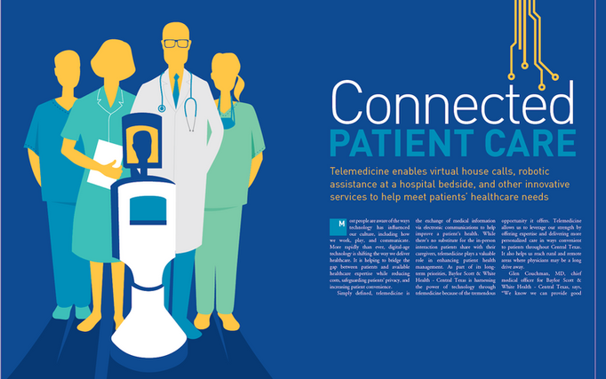 Telemedicine article for Cataylst magazine
