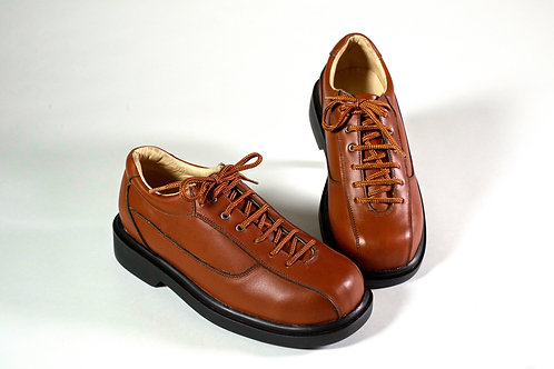 Zapato hombre cafe oscuro