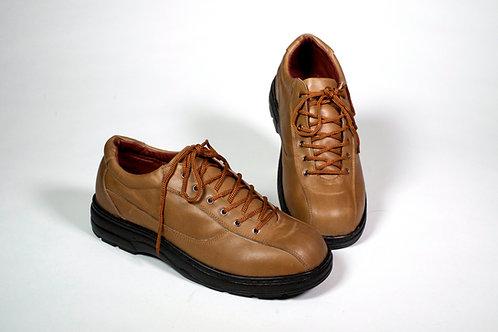Zapato hombre cafe claro