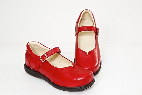 Zapatos Mujer Rojo