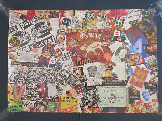 Sex Pistols 'Jamie Reid Mural Part 2'