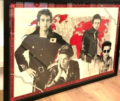 The Clash..Give Em Enough Rope Rare 1978 Promo Poster.