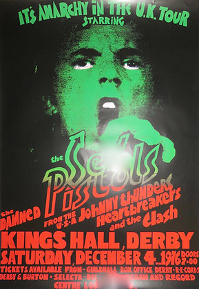 Sex Pistols 'Anarchy in the UK' tour poster