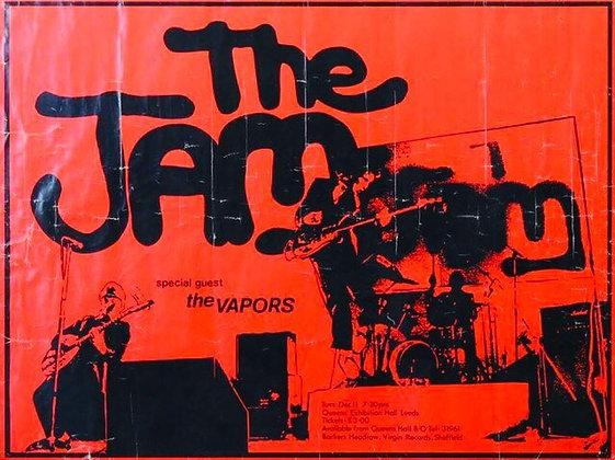 The Jam ..Original 1979 Concert poster