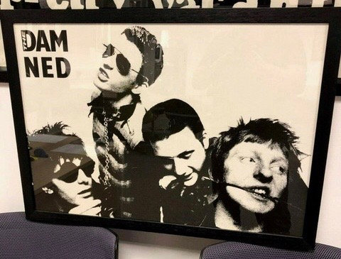 The Damned New Rose promo poster