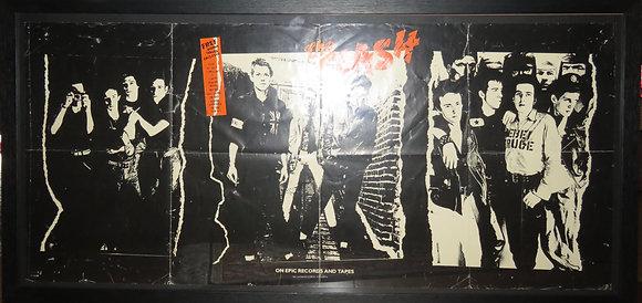 The Clash 1979 Album Promo Poster