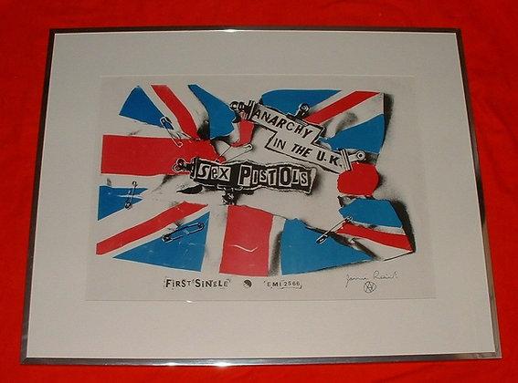 Sex Pistols...Anarchy In The U.K.