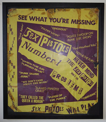 Sex Pistols 'See what you're Missing'