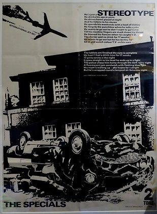 The Specials 'Stereotype' Poster