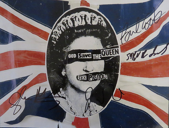 Sex Pistols 'God Save the Queen'