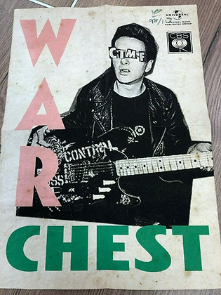 The Clash War Chest signed Billy Childish print.