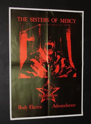 Sisters Of Mercy...Original 1982 promo poster.